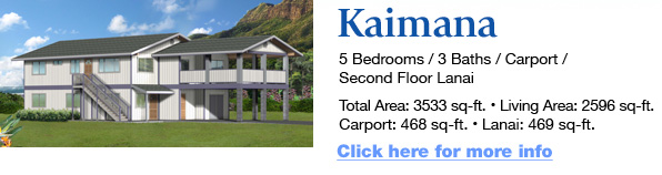 House packages hardware hawaii for Hawaii home packages